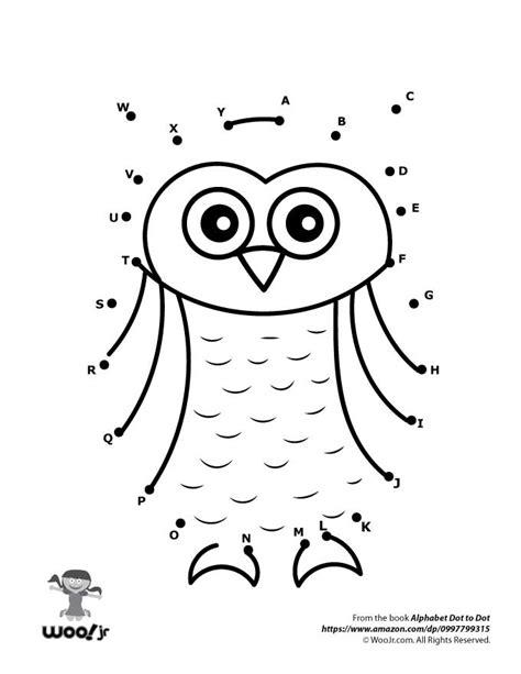 printable owl worksheets owl dot to dot woo jr kids activities