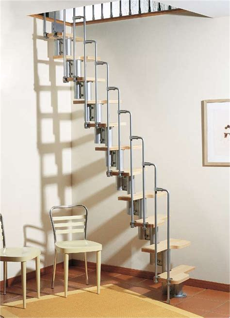 Sliding Down A Banister Karina Modular Staircase Kit Metal Steel And Wood