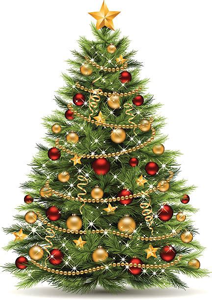 christmas tree clip art vector images illustrations