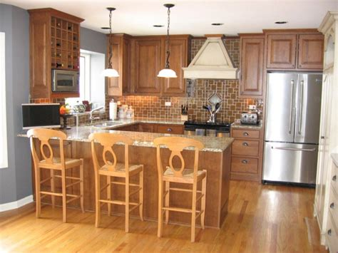 u shaped kitchen design with island 18 small u shaped kitchen designs ideas design trends