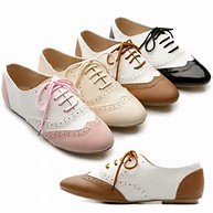 Image result for womens low-heel oxfords