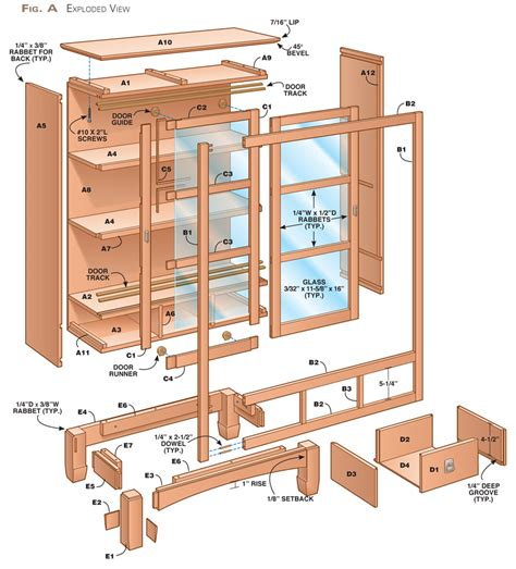 pdf sliding bookshelf door plans plans free