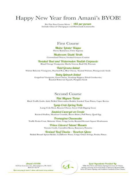 new years menu template new year s day menu template 5 free templates in pdf