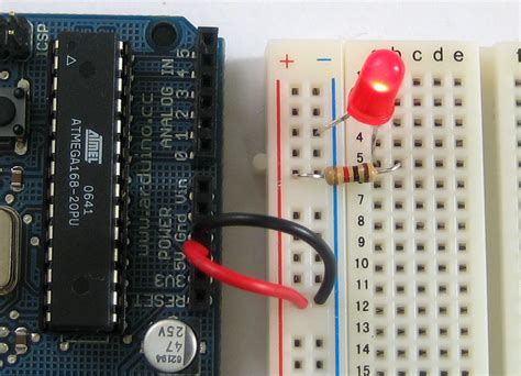 Arduino Tutorial Lesson 3 Breadboards And Leds Led Light Arduino