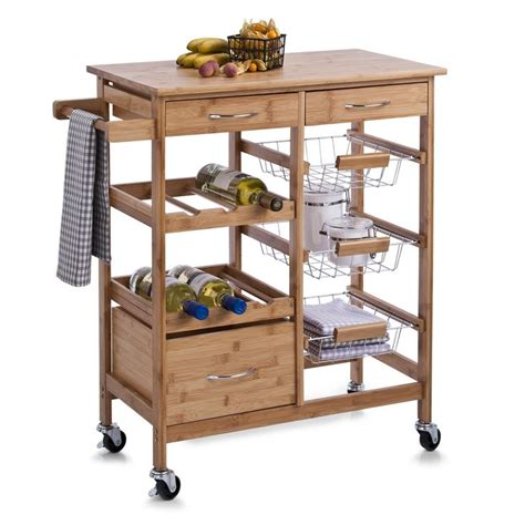 17 best ideas about kitchen trolley on island
