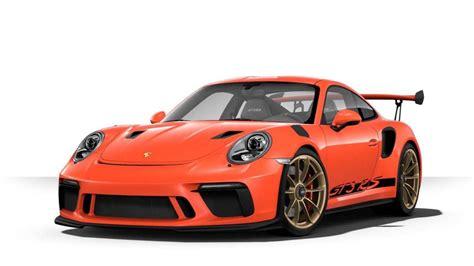 porsche 911 gt3 price porsche 911 gt3 rs 2018 mạnh mẽ hơn để h 250 t kh 225 ch autozone