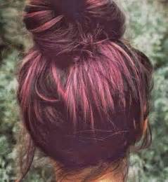plum hair color plum color hair this reddish purple color of