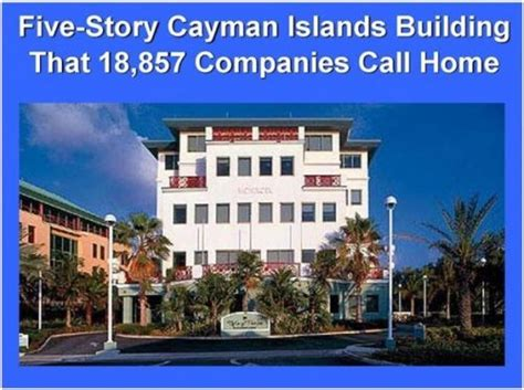 grand cayman bank tax havens ugland house grand cayman home to almost