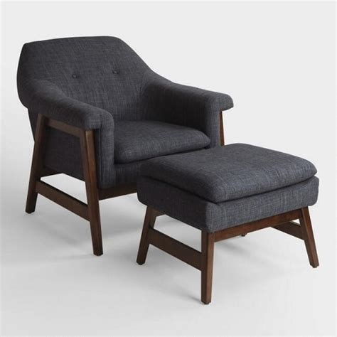upholstered chair and ottoman sets the dappered space cost plus world market s friends