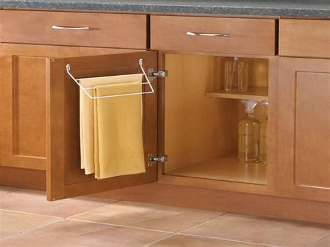 Kitchen Cabinet Towel Rack Photo 6 Kitchen Ideas