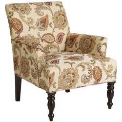 Pier One Living Room Chairs Liliana Orange Jacobean Armchair Pier 1 Imports