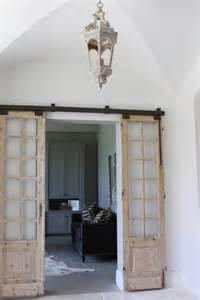 Rustic Home Interior Designs Modern And Rustic Interior Sliding Barn Door Designs