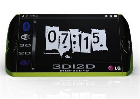 lg 3d mobile phone lg 3d mobile phone concept