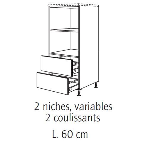 meuble cuisine colonne four micro onde demi colonne four et micro onde table de cuisine