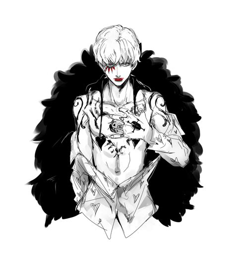 one piece corazon tattoo donquixote rocinante 1792568 zerochan
