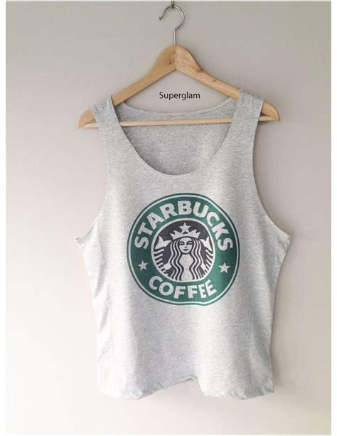 starbucks bucks coffee logo singlet tshirt door