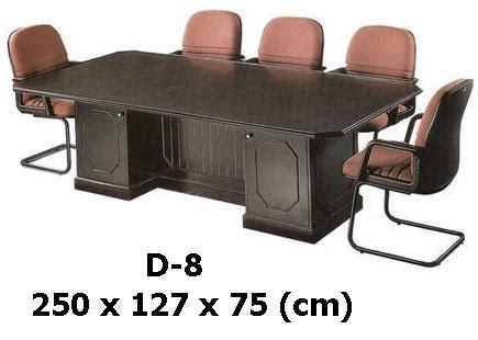 Meja Rapat Indachi indachi meja meeting type d 8 indachi melamic series