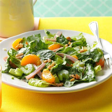 mandarin turkey pinwheels recipe taste of home ham mandarin salad recipe taste of home
