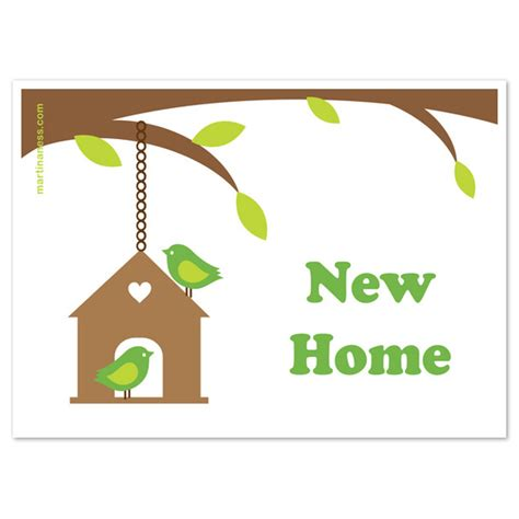 invitation card for new home new home birdie card invitations cards on pingg