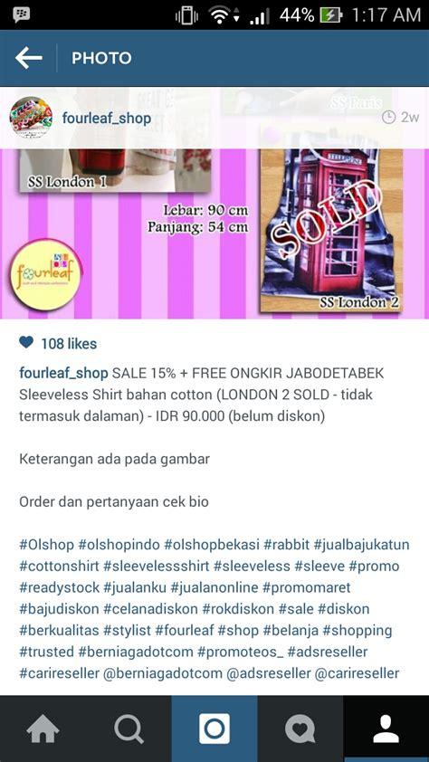 bio instagram untuk online shop foto caption efektif kingpromosi com rajanya promosi