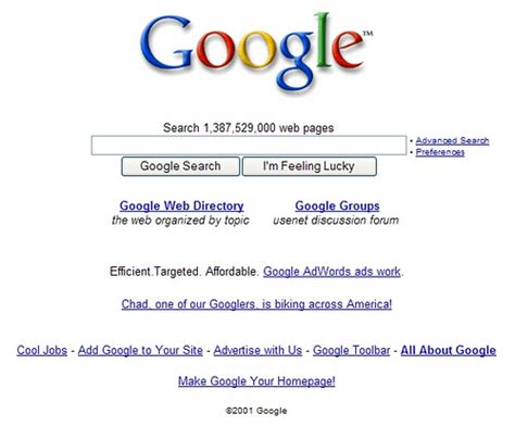 google images old version google let s query like it s 2001 search engine land