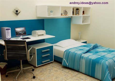dekorasi desain interior kamar tidur ukuran  meter