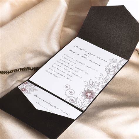 wedding invite pockets uk pocket wedding invitations uk cheap pocket wedding cards