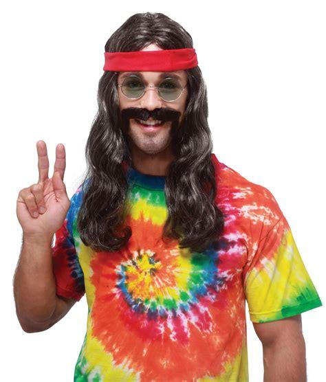 wigs world of wigs costume wigs styles men 70s shag w124 hippie man long groovy 60s 70s mens costume wig