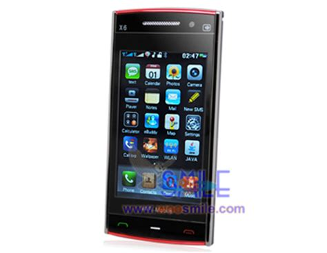 Touchscreen Nokia X6 nokia x6 wifi tv mobile phones touch screen from china manufacturer shenzhen woosmile trading