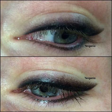 tattoo eyeliner mn smokey eyeliner eski ve k 246 t 252 leşmiş kalıcı makyaj
