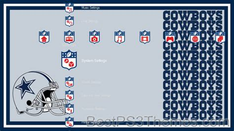 ps4 nfl themes nfl 2 best ps3 themes