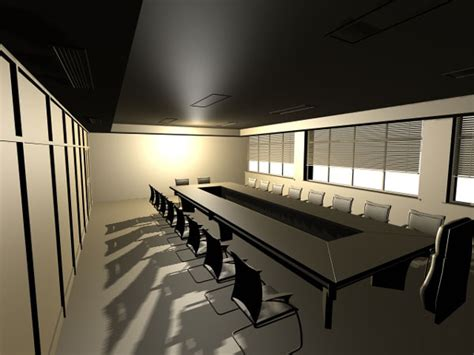 Free Meeting Rooms by Office Conference Room 3d Model Free