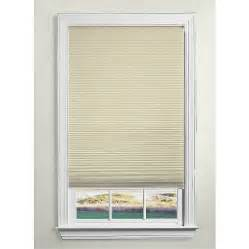 Cellular Window Shades Shop Levolor Sand Room Darkening Cordless Polycotton