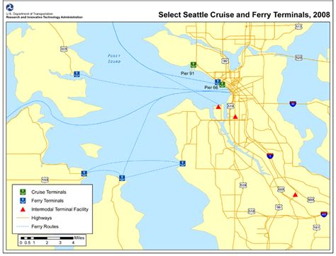 seattle map ferry figure 1 select seattle wa cruise and ferry terminals
