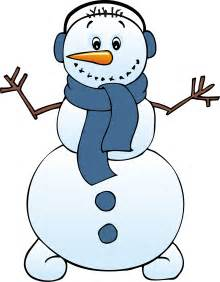 winter snowman clipart clipart best
