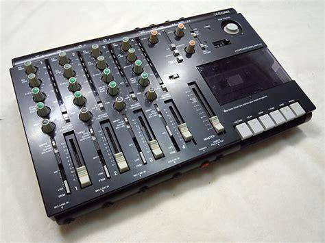 tascam portastudio cassette tascam portastudio 414 mkii 4 track cassette recorder free