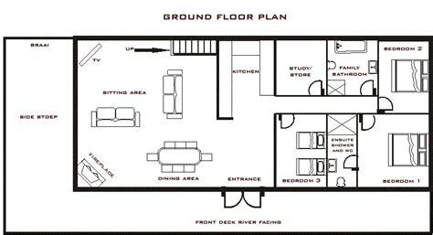 river house floor plans breede river house plan