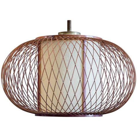 woven pendant light hikari woven pendant light for sale at 1stdibs