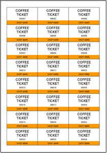 Drink Ticket Template by Ticket Outline Template New Calendar Template Site