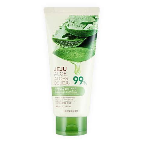 Jeju Aloe jeju aloe fresh soothing gel บำร งผ วหน า