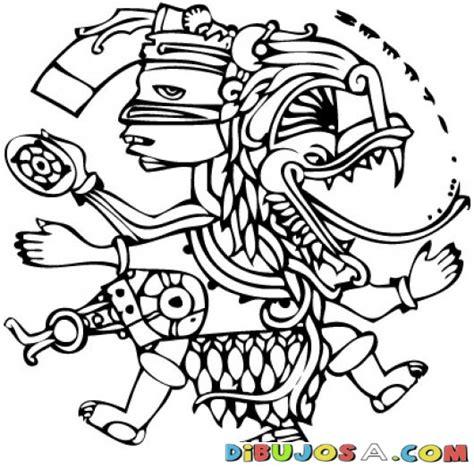 imagenes mayas para imprimir dibujomaya para pintar y colorear un dibujo maya