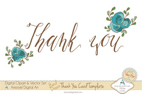 thank you card template 5 5 x 8 5 thank you clipart clipartxtras