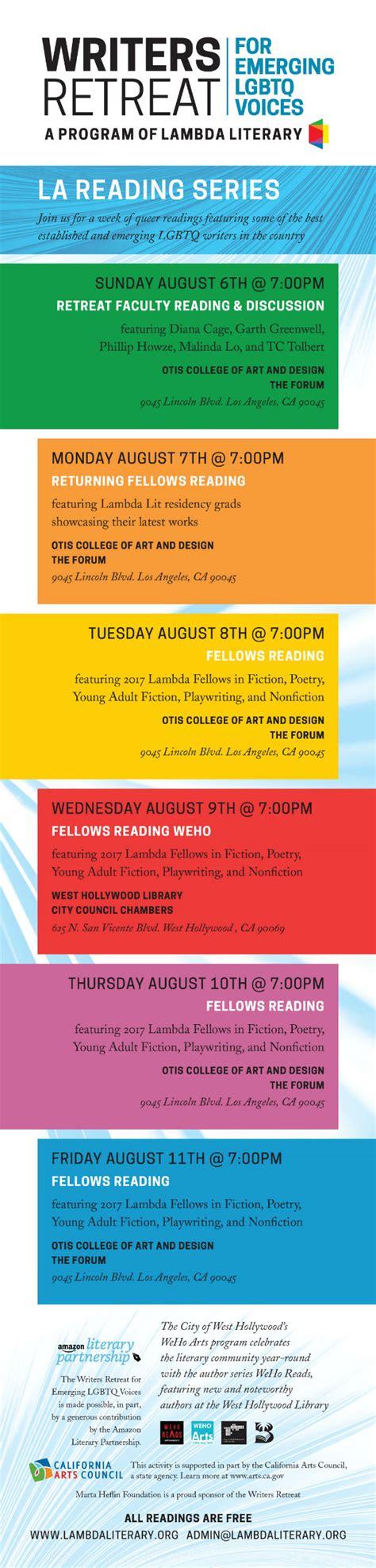 the literary conference series 1 lambda literary