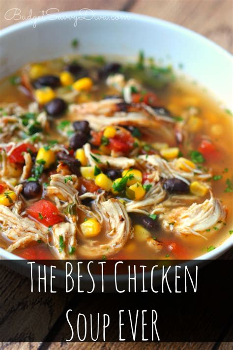 the best chicken soup ever recipe just a pinch recipes