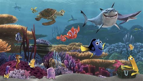 Daycare Wall Murals image gallery nemo mural