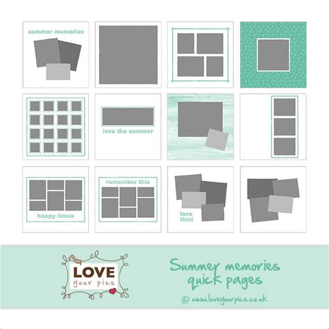 scrapbook templates for photoshop free 2374 best layout images on pinterest graph design