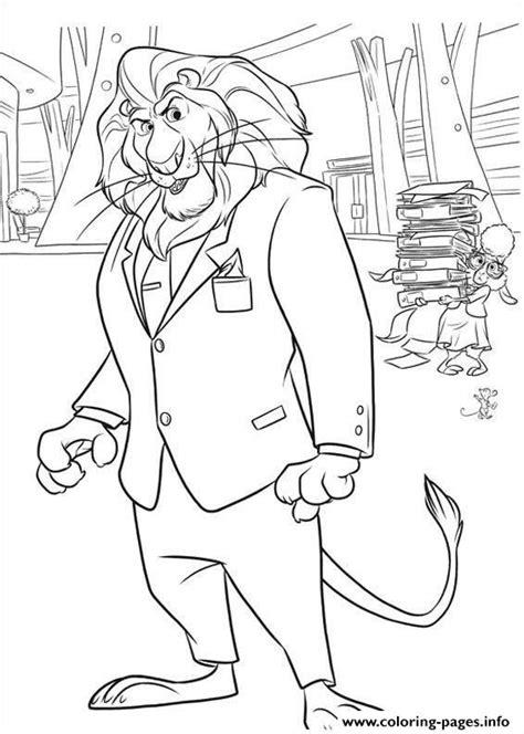coloring pages zootopia print zootopia 16 coloring pages zootropolis pinterest