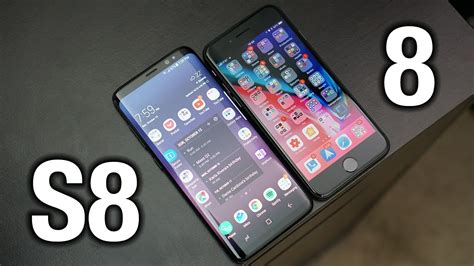 R Samsung S8 Iphone 8 Vs Samsung Galaxy S8 Sorry Apple Pocketnow