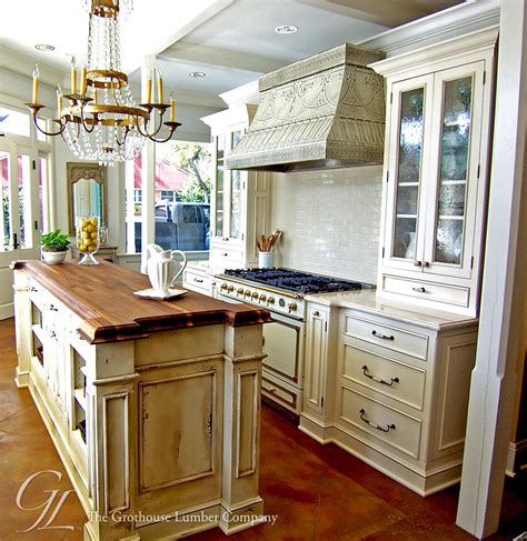 wood island kitchen walnut wood countertop kitchen island new orleans louisiana