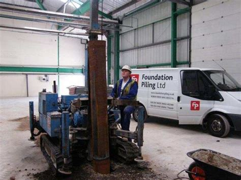 hutte 203 piling rig d500 mini drophammer foundation piling uk